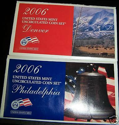 2006 United States Mint Uncirculated Coin Set