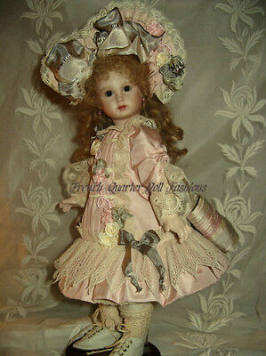 """12"""" French Doll Dress Pattern Antique Style ~ Letita"""