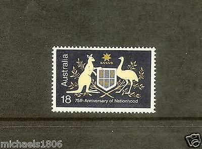 AUSTRALIA - 1976 - COAT OF ARMS - 75th anniversary of Nationhood - MNH Stamp