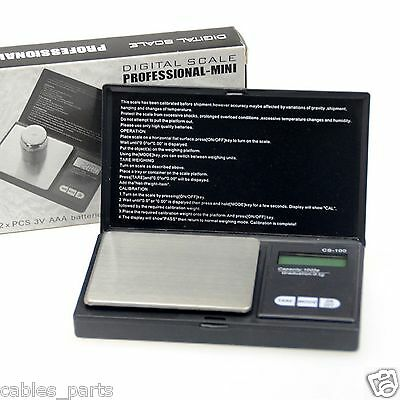 1000g x 0.1g Pocket Jewelry Gold Weed Digital Scale Silver Professional scale US