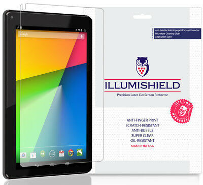2x iLLumiShield Ultra Clear Screen Protector Cover for RCA 7 Voyager II