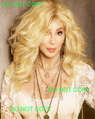 CHER - 8x10 Photo - BEAUTIFUL AS A BLONDE