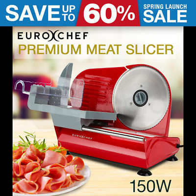NEW Electric Meat Slicer Food Cheese Processor Bread Vegetable Deli Ham 150W