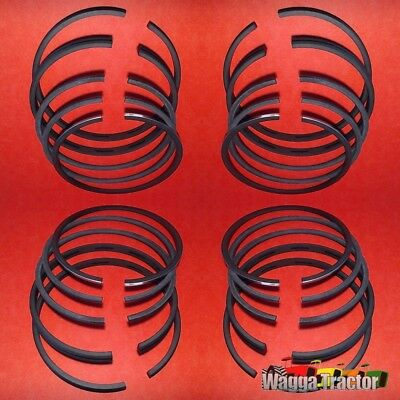 RGS44264 4x Piston Ring Sets International A554 Tractor w IH AD264 4Cyl Engine