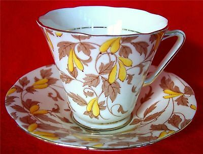 Lovely Vintage Floral Chintz China Cup Set Crafton China England Ashley