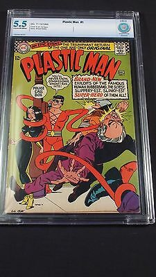 Plastic Man #1 CBCS graded 5.5!