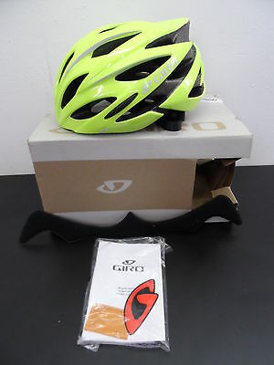 Giros Savant Road Bike Helmet Yellow Large