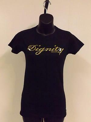 """NEW HILARY DUFF """"DIGNITY"""" Womens or Mens Sizes S-M-L-XL CONCERT T-Shirt"""