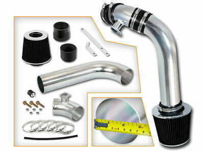 Filter 1992-1998 Bmw E36 325 L6 Chrome Cold Air Intake Induction Kit System