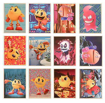 12 PacMan and the Ghostly Adventures Large Stickers