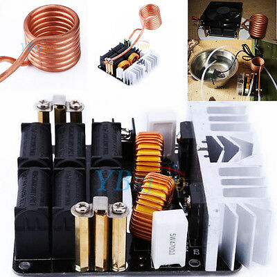 New 1000W ZVS Low Voltage Induction Heating Board Module Flyback Driver Heater