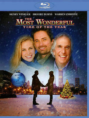 The Most Wonderful Time of the Year (Blu-ray Disc,2011) CHRISTMAS Henry Winkler