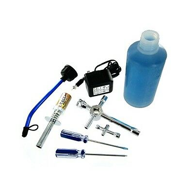 NEW RedCat Racing Nitro Starter Kit Glow Plug Igniter Charger Tools Fuel Bottle