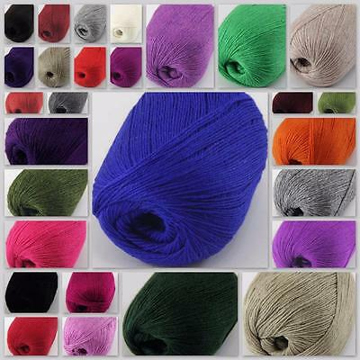 Sale New Luxurious Soft 50g Mongolian Pure 100%cashmere Hand Knitting Wool Yarn