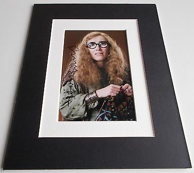 Emma Thompson Signed Autograph 10x8 photo mount display Harry Potter Film & COA