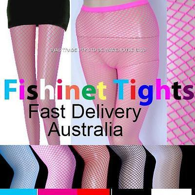 Lingerie Lace Footed FISHNET Stockings Tights 20s 80's 80s Pantyhose Panty Hose