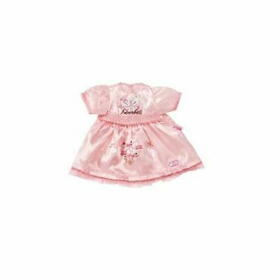 New Zapf Creation Baby Annabell Doll Dress Outfit Pink Pinstripe 794265 Dolls