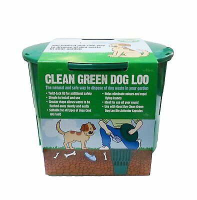 Good Boy Clean Green Dog Loo Pet Waste Disposal Unit