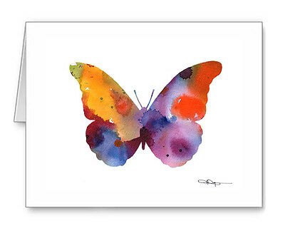 BUTTERFLY  Note Cards With Envelopes