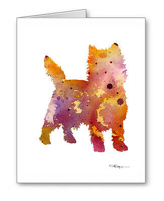 CAIRN TERRIER Note Cards With Envelopes