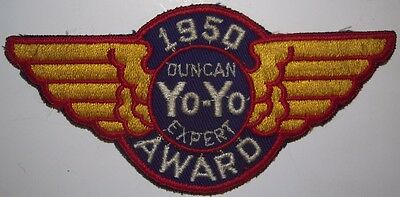 1950 Duncan Yo-Yo Expert Award Patch