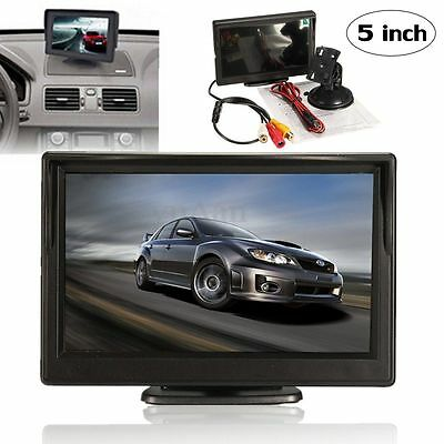 "5"" TFT Digital LCD HD Screen Monitor for Car Rear Reverse Rearview Backup Camera"