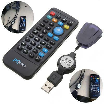 IR Remote Controller Mouse Joystick with USB Receiver for Windows XP 2000 Above