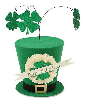 Bethany Lowe - St. Patrick's Day - Luck O' the Irish Hat TP4146