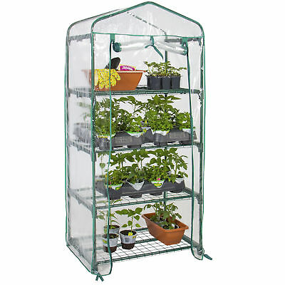 "Best Choice Products 4 Tier Mini Greenhouse 27"" Long x 18"" Wide x 63"" High"