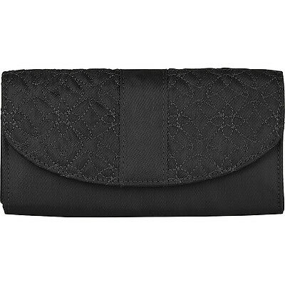 Travelon Signature Embroidered Envelope Style Wallet - Ladies Small Wallet NEW