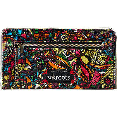 Sakroots Artist Circle Slim Wallet 10 Colors Ladies Small Wallet NEW