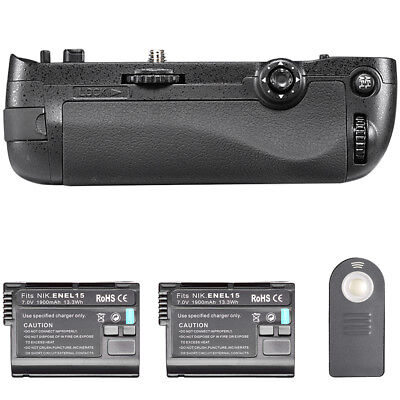 Neewer Infrared Remote Control Battery Grip Replacement for MB-D16 +2*Battery