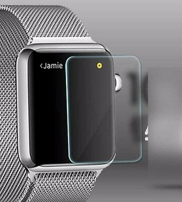 Screen Protector Guard Cover 2.5D Tempered  Glass  For Apple  iwatch 38MM