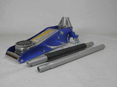 New 1.5 Ton Aluminum Hydraulic Low Profile Racing Trolley Jack Quicklift Gs/Ce