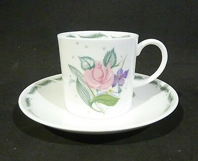 Susie Cooper Fragrance  Coffee Can / Cup & Saucer Bone China England