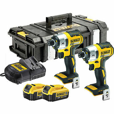 DeWalt XR DCF886 2M2 18v Li-Ion Brushless Impact driver 2 x 4Ah Battery Kit