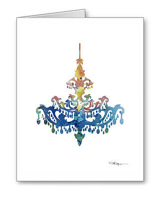 CHANDALIER Note Cards With Envelopes