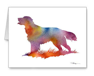 FLAT COATED RETRIEVER Note Cards With Envelopes