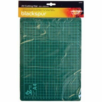 A4 Cutting Mat Printed Grid Lines Non Slip Knife Board Art Craft Paper Models