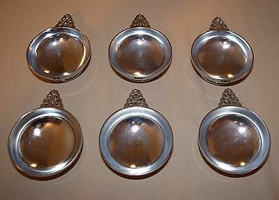 Very Nice 6 Grand Silver Co. Small Dishes Nickle Silver Silver Soldered Wear Bri