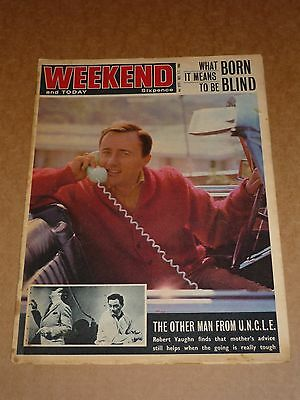 Weekend Magazine December 1-7 1965 Man from U.N.C.L.E. cover
