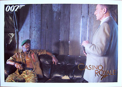 James Bond 2014 Archives Casino Royale Single Gold Parallel Card Selection