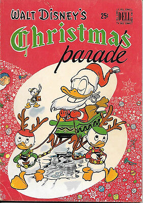 Walt Disney's Christmas Parade Comic Book #1, Dell 1949 FINE-
