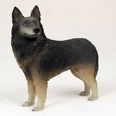 BELGIAN TERVUREN Dog HAND PAINTED FIGURINE Resin Statue COLLECTIBLE puppy