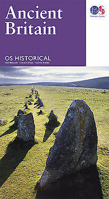 Ancient Britain Ordnance Survey map monuments and archaeological sites
