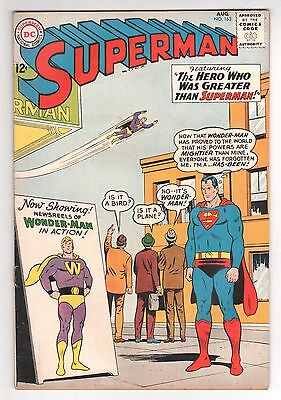 Superman #163 (1939 Series) DC Comics August 1963 VG/GD
