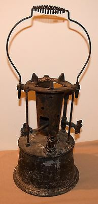 Vintage Ashton Mfg Co Melting Burner With Pot Newark, Nj