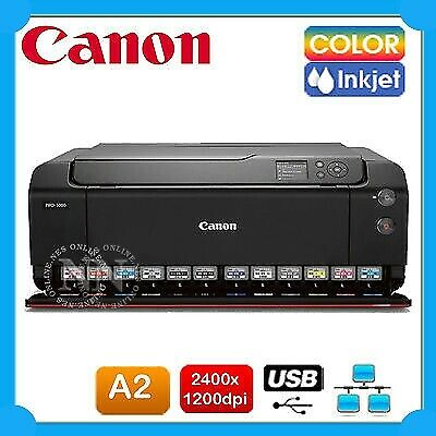 Canon imageProGRAF Pro-1000 A2 Network Inkjet Professional Grade Photo Printer