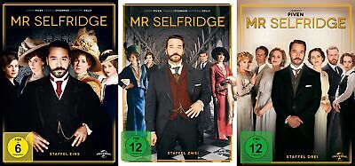 Mr Selfridge - Die komplette Season/Staffel 1+2+3 # 9-DVD-SET-NEU