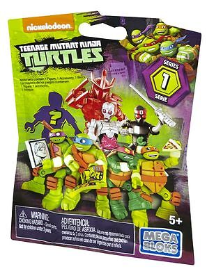 Mattel - Teenage Mutant Ninja Turtles - Mega Bloks - Micro-Aktion-Figuren, DMX21